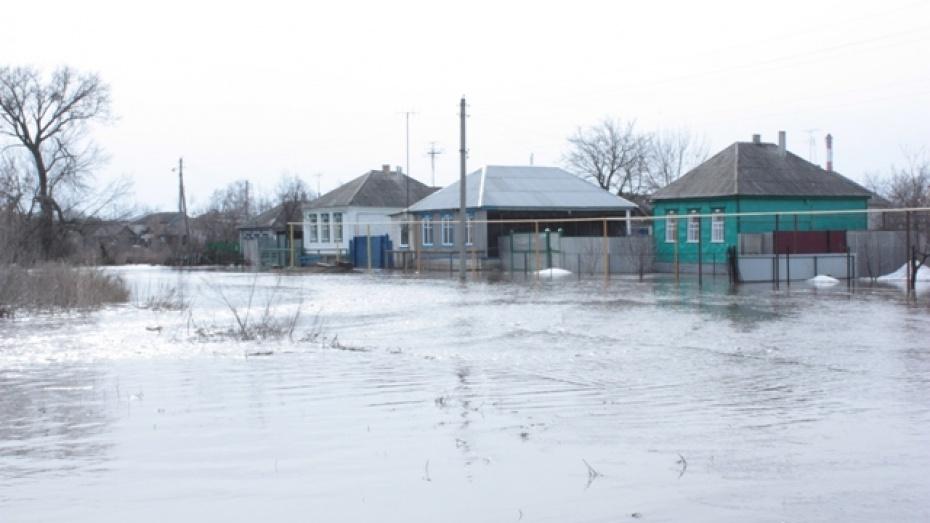 В Ольховатке вода из полей затопила 40 подворий