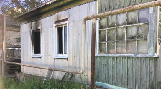 В Богучарском районе при пожаре угорел 57-летний мужчина