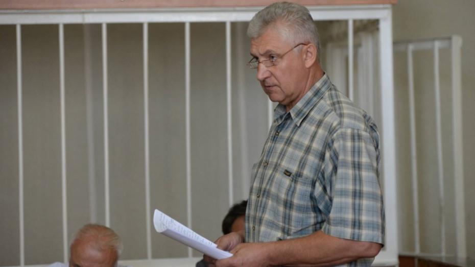 Экс-глава воронежского УФМС попросил условный срок за взятку иномаркой
