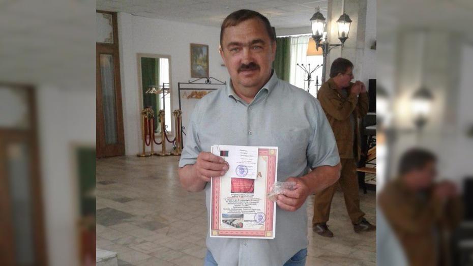 Грибановец получил медаль к 30-летию вывода 66-й мотострелковой бригады из Афганистана