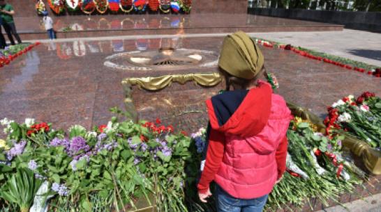 Фото РИА «Воронеж». День Победы в режиме самоизоляции