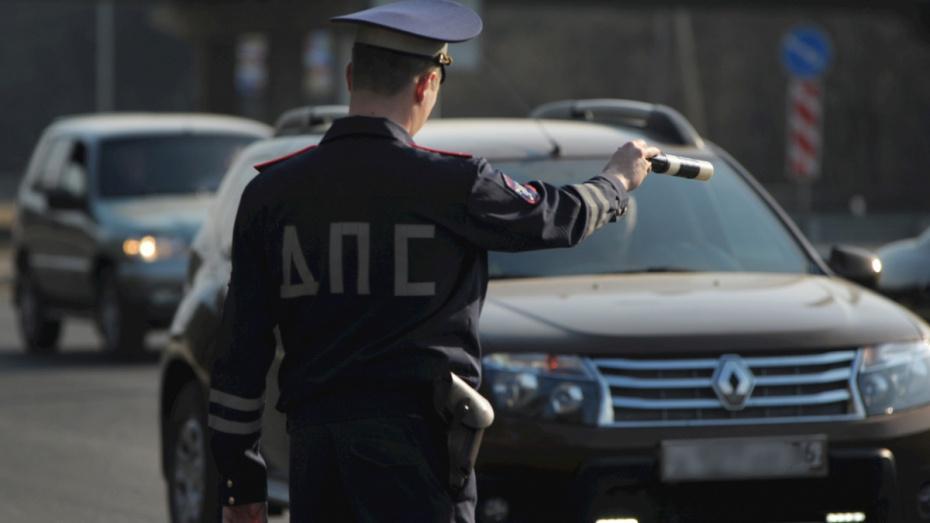 В Воронеже инспекторы ДПС устроят охоту на пьяных водителей
