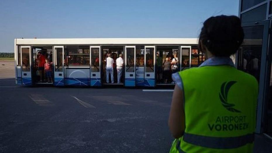 Рейсами воронежского аэропорта в июле воспользовались почти 57 тыс человек