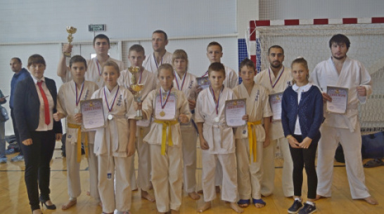 Верхнехавские спортсмены заняли 3-е место на областных соревнованиях по карате