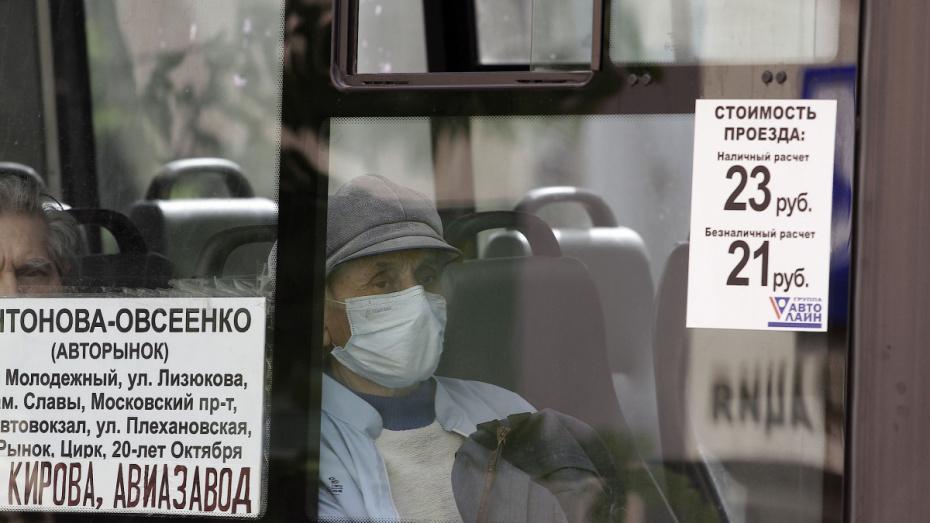 Более 70% воронежских пенсионеров с коронавирусом ездили на общественном транспорте