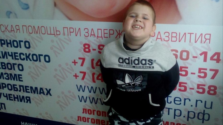 На лечение 6-летнего мальчика из верхнемамонского села собрали 69 тыс рублей