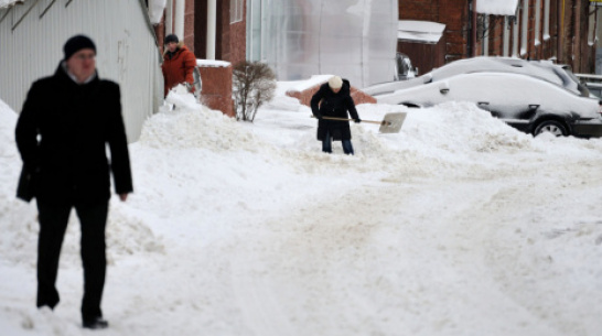 Gismeteo: в Воронеже за январь выпало 47 мм осадков