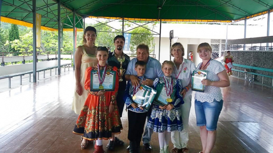 Аннинская танцевальная студия завоевала Гран-при на международном конкурсе «Чайка»