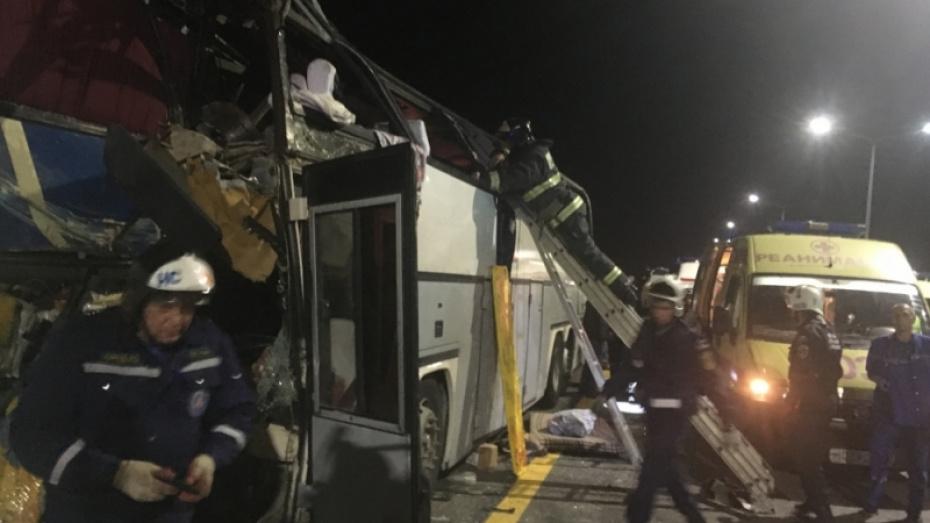 Медики рассказали о состоянии пострадавших в столкновении автобусов под Воронежем