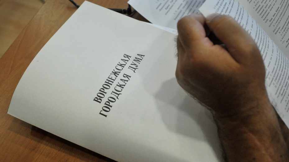 Депутаты утвердили исполнение бюджета Воронежа за 2017 год