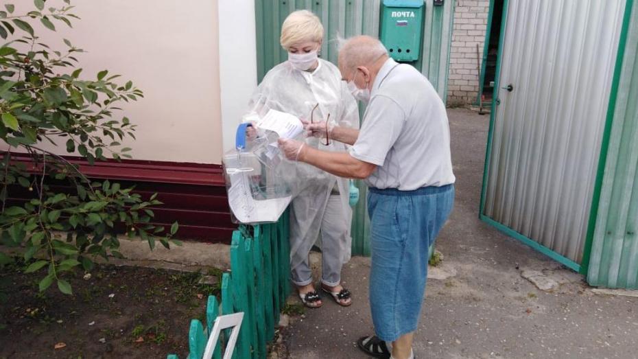 В первый день проголосовали более 195 тыс жителей Воронежской области