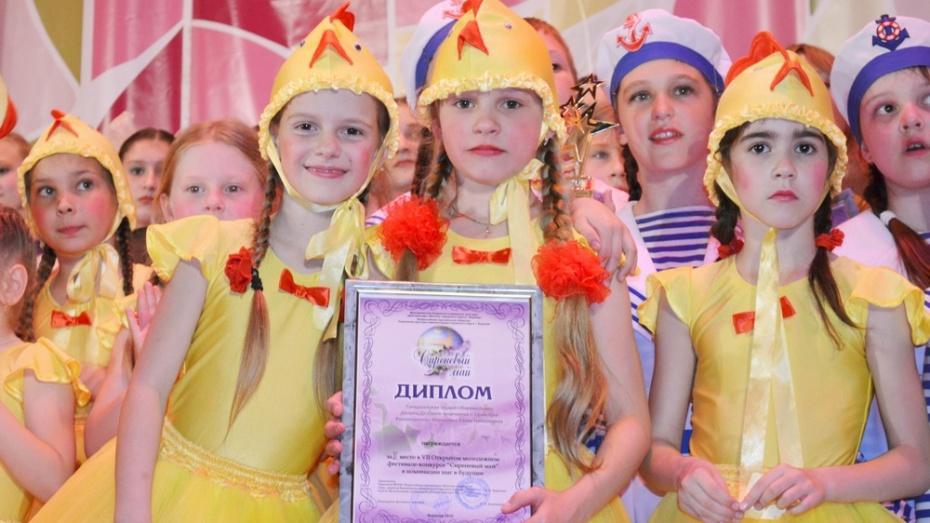 Семилукские танцоры стали призерами областного фестиваля «Сиреневый май»