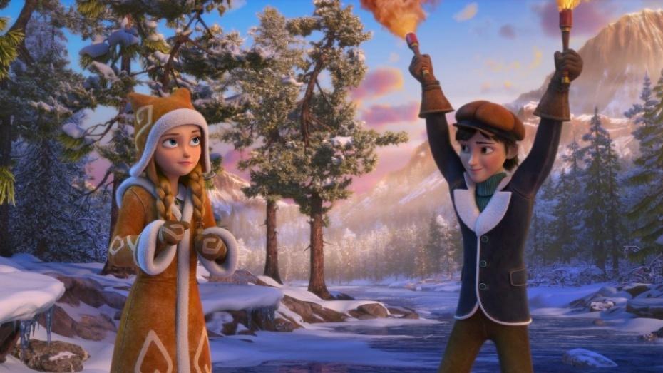 картинка герды из снежной королевы огонь и лед платья