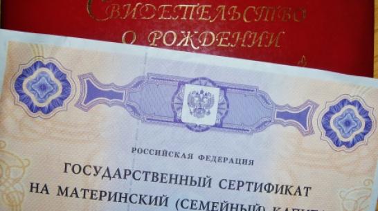 В Воронежской области 2 семьи попытались получить маткапитал на одного ребенка