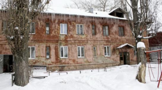 На расселение аварийных домов в Воронеже направят 8,4 млн рублей