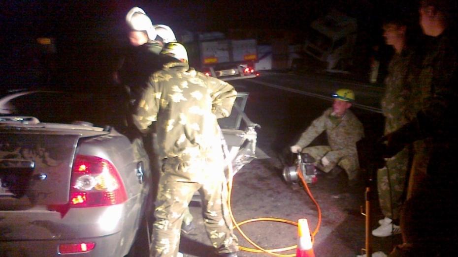 Число жертв ДТП на трассе Р-22 в Воронежской области выросло до 8