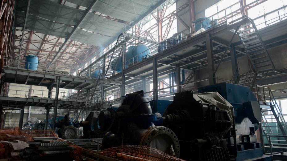 В строительство парогазовой установки на ТЭЦ в Воронеже вложили больше 15 млрд рублей