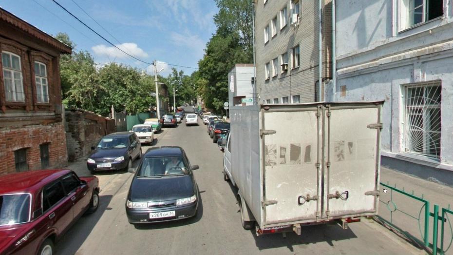 На улице Вайцеховского в Воронеже ввели одностороннее движение