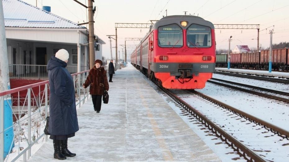 CНового года вВоронежской области подорожает проезд вэлектричках