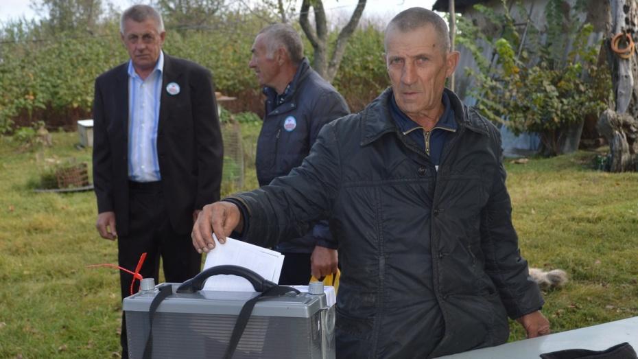 В селе под Воронежем на выборах проголосовали 100% избирателей