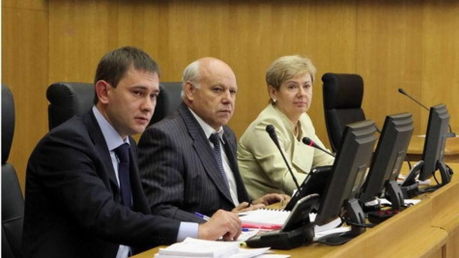 Вице-спикеры Воронежской облдумы отчитались о доходах