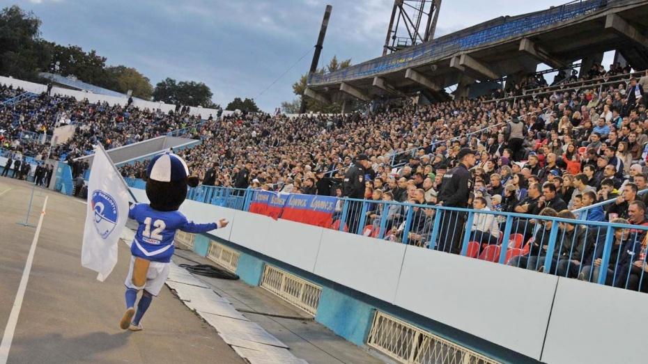 Вход на матч воронежского «Факела» с ФК «Рязань» будет бесплатным