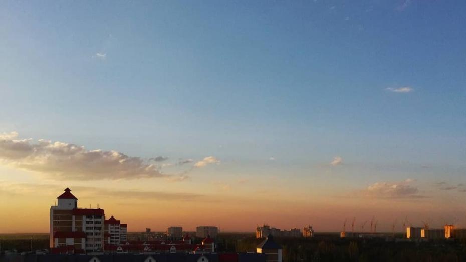 Воронежцам спрогнозировали жаркую рабочую неделю