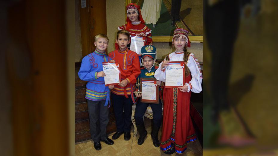 Хохольские школьники стали лауреатами областного конкурса художественного чтения