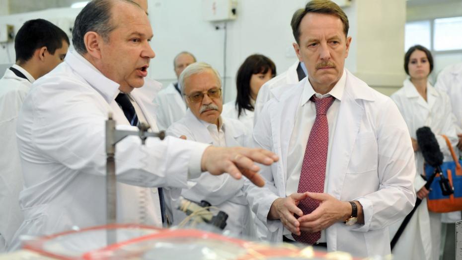 Сегодня губернатор лично оценил уровень развития трех промышленных предприятий Воронежа