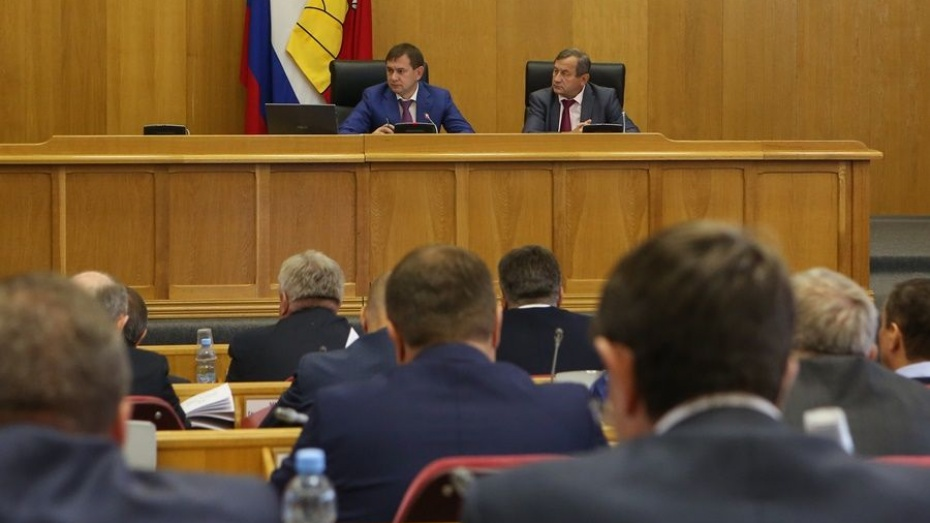 Депутаты Воронежской облдумы дополнили законы о соцподдержке населения