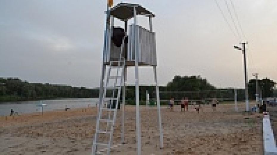 В пляжной радевалке видео