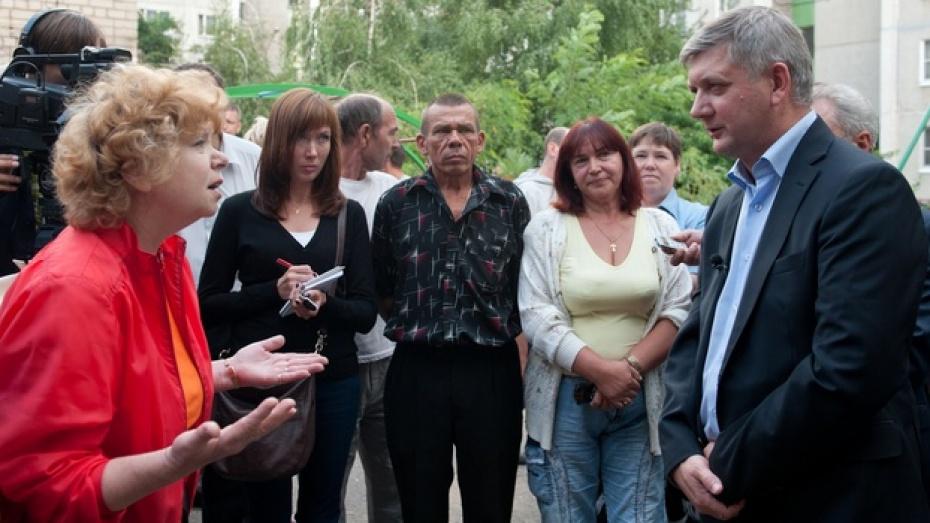 Вице-губернатор Александр Гусев встретился с жителями Коминтерновского района