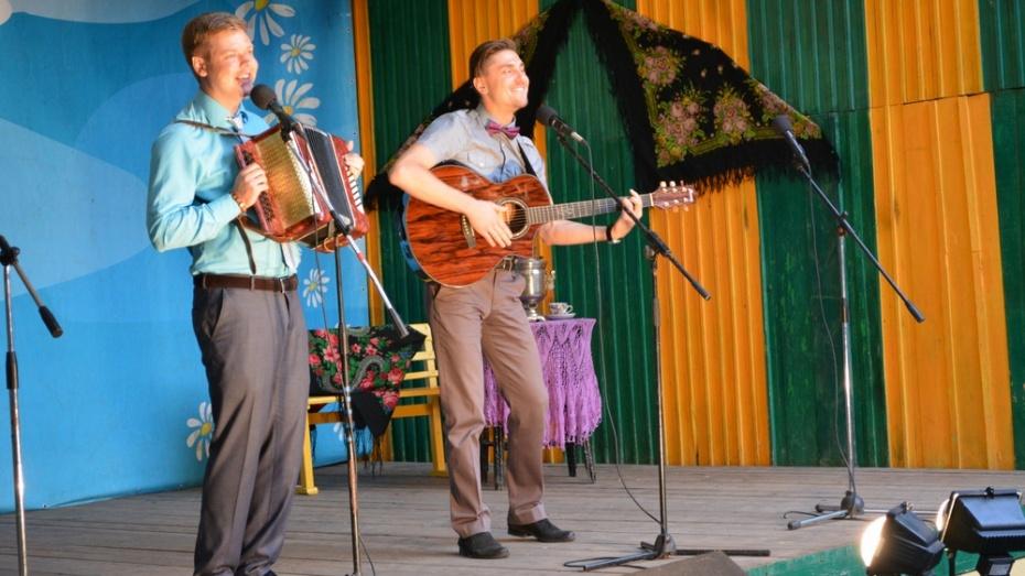 В Острогожске прошел 21 районный конкурс «Играй, гармонь! Звени, частушка!»