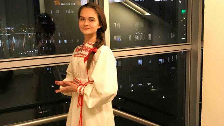 Ольховатская вокалистка выступила на фестивале маэстро Спивакова «Москва встречает друзей»