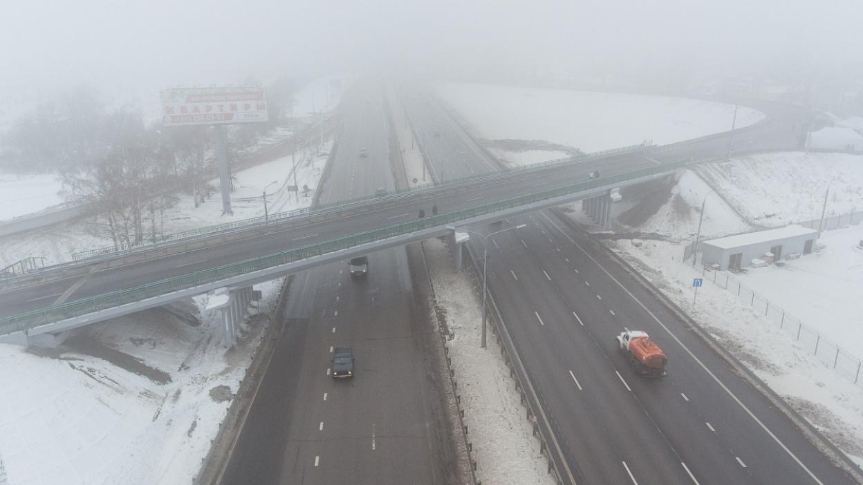 Под Воронежем после ремонта открылись участок трассы А-134 и путепровод