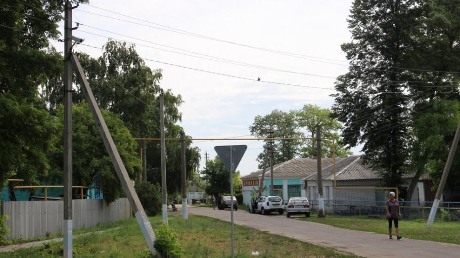 В подгоренском селе Белогорье установили 260 уличных светодиодных фонарей