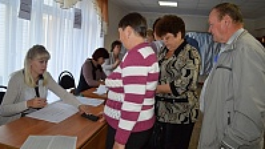 В Репьевском районе Алексей Гордеев набрал 97% голосов на выборах губернатора