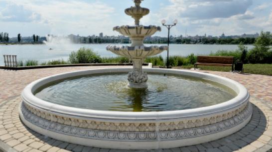 Мэрия пообещала запустить фонтаны в парках Воронежа 29 июня