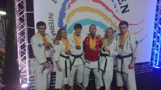 Воронежские спортсмены взяли 3 «золота» на чемпионате мира по кобудо
