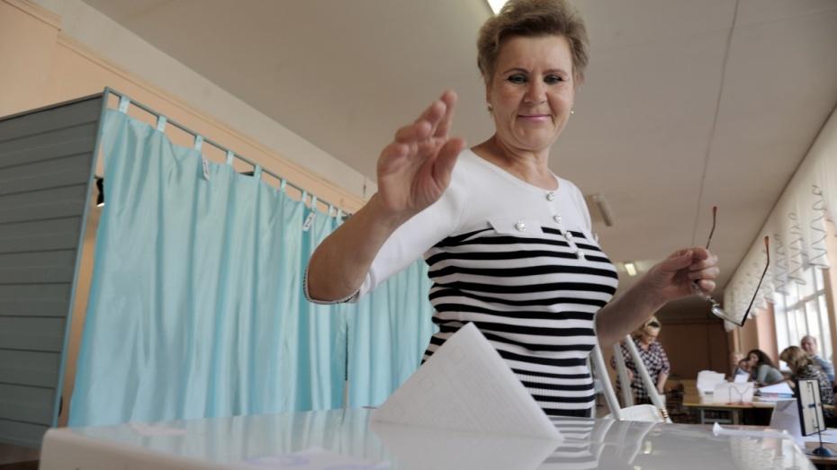 Первый номер на выборах в Воронежскую облдуму вытащила «Единая Россия»
