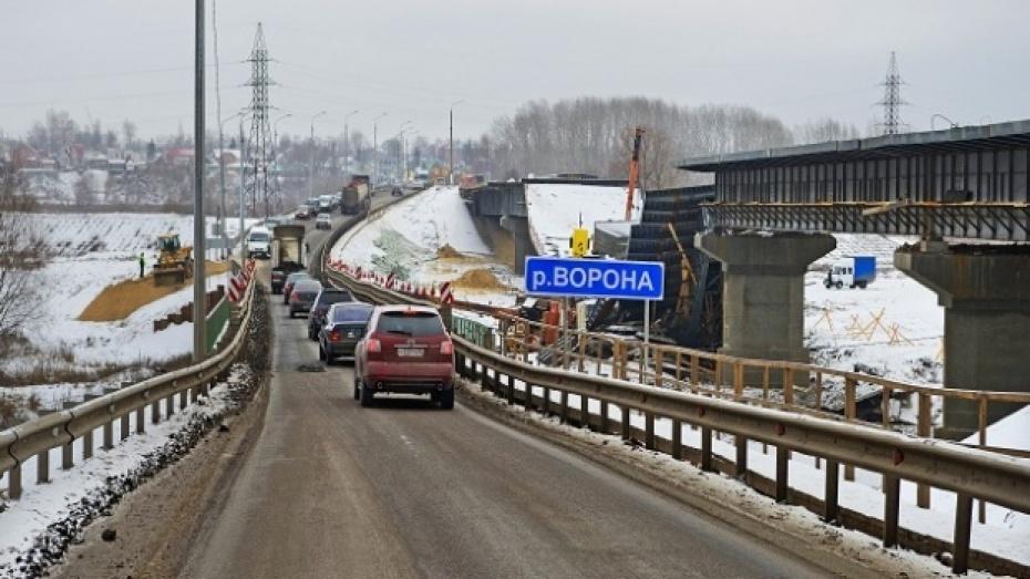 Грузоподъемность моста через реку Ворона в Борисоглебске увеличена