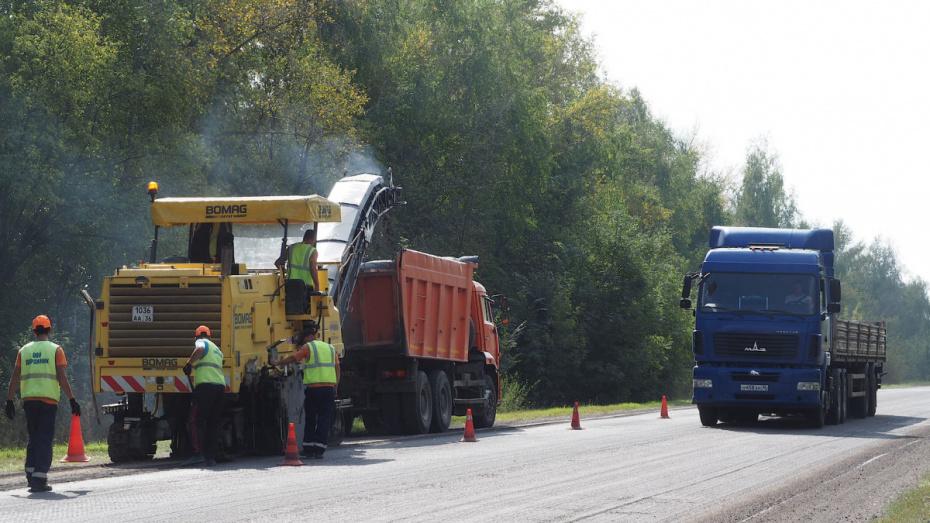 Власти выделят 488 млн рублей на ремонт 52 км дорог в Воронежской области