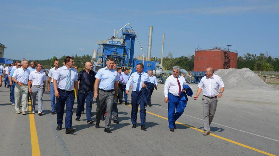 Чиновники Воронежской области решили устраивать смотры дорожных фирм