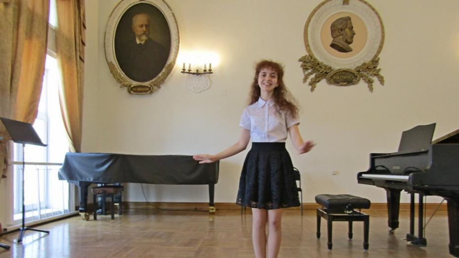 Верхнемамонская школьница стала лауреатом регионального конкурса «Юный музыковед»