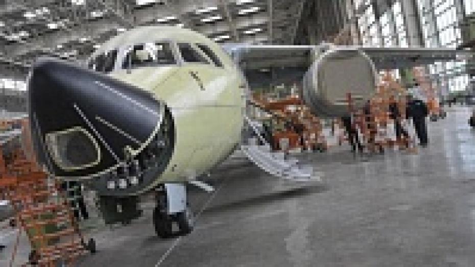 Выручка воронежского авиазавода в 2013 году составила около 10 млрд рублей