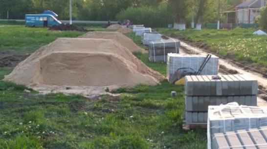 В таловском селе Александровка построят тротуар за 2,5 млн рублей