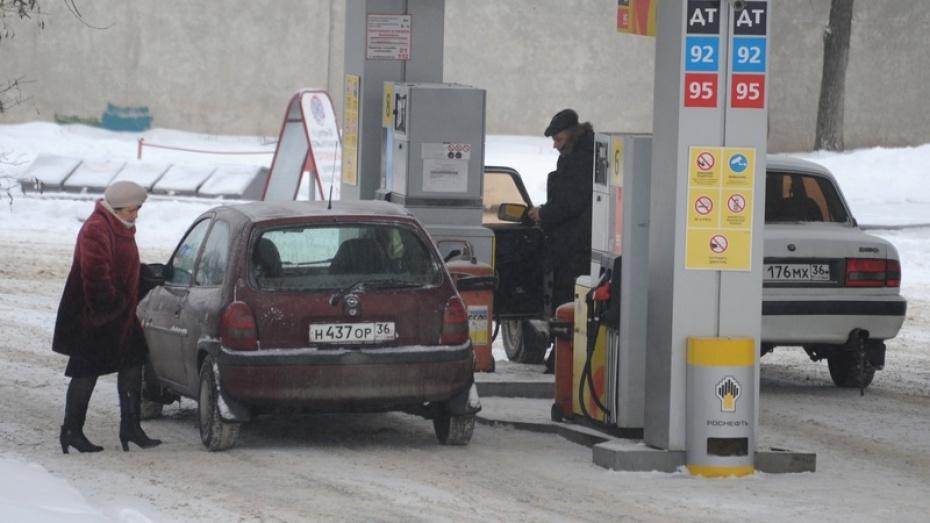 Воронеж стал российским лидером по росту цен на бензин