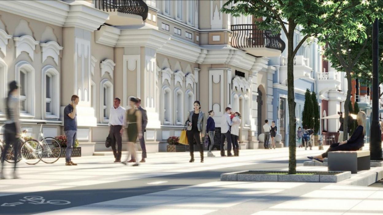 Световые порталы, гранит и велодорожки. Какой хотят сделать главную улицу Воронежа